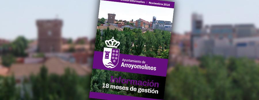Boletín noviembre de 2016 Arroyomolinos