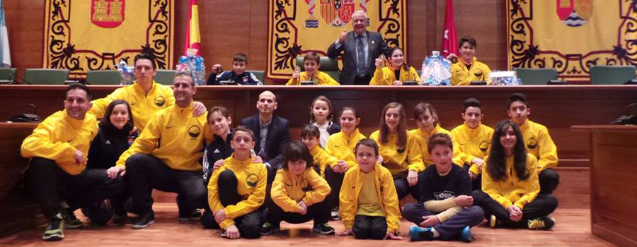 Campeones Taekwondo Arroyomolinos